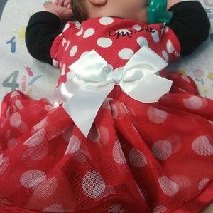 Newborn mini mouse dress